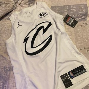 LeBron James all-star Cleveland cavalier jersey
